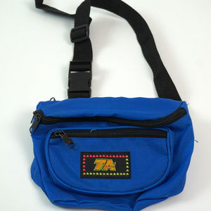 Vintage 80's TA Fanny Pack Hip Bag Travel Pouch